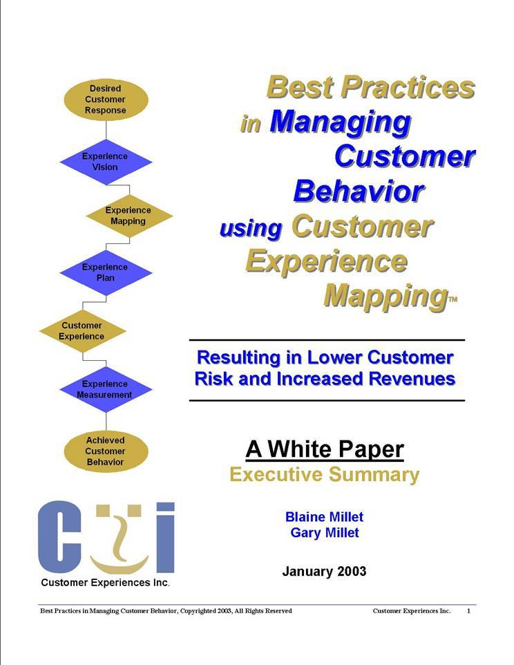 White paper cover Executive Summary