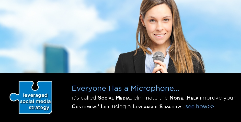 leveraged social media strategy helps improve your customers life