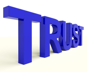 Trust is required to create true customer loyalty and build loyal advocates